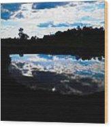 Lake Goad Wood Print