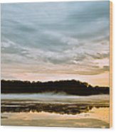 Lake Hamilton Wood Print