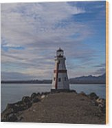 Lake Havasu Lighthouse Wood Print