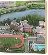 Lake Highland Preparatory School Wood Print