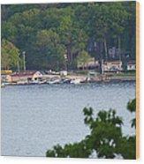 Lake Hopatcong Scene 4 Wood Print