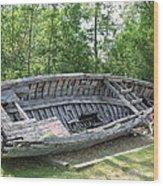 Lake Huron Relic Wood Print
