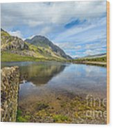 Lake Idwal Wood Print