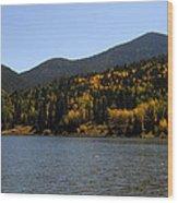 Lake Isabel Wood Print