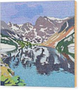 Lake Isabelle Colorado Wood Print
