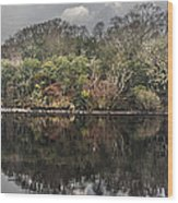 Lake Isle Of Inishfree 2 Wood Print