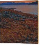 Lake Jocassee Sunrise Wood Print