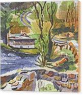 Lake Killarney Impressions Ironton Missouri Wood Print