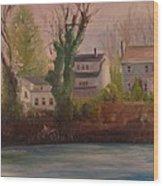 Lake Lefferts  Wood Print