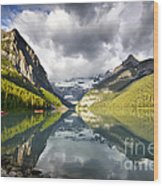 Lake Louise Banff National Park Wood Print