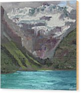 Lake Louise Canada Wood Print