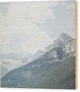 Lake Louise Solitude - Alberta Canada Wood Print