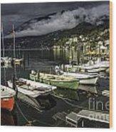 Lake Maggiore Ascona 1 Wood Print