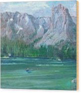 Lake Mamie Wood Print