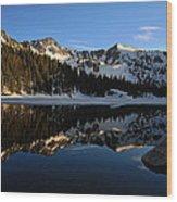 Lake Mary Brighton Utah Wood Print