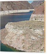 Lake Mead In 2000 Wood Print