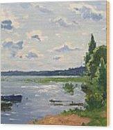 Lake Naroch Wood Print