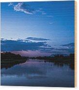 Lake Nm Wood Print