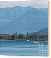 Lake Of Constance Wood Print