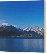 Lake On Mountainside, Sorfolda, Bodo Wood Print