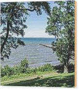 Lake Ontario At Webster Park Wood Print
