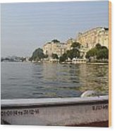 Lake Pichola Wood Print