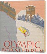 Lake Placid - 1932 Olympics Wood Print