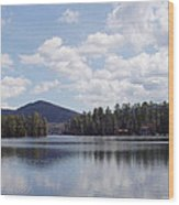 Lake Placid Wood Print