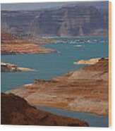 Lake Powell Wood Print