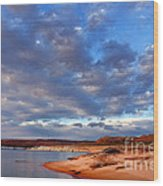 Lake Powell Morning Wood Print by Thomas R Fletcher