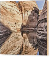 Lake Powell - Page Az Wood Print