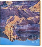 Lake Powell Primacy Wood Print