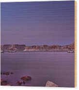 Lake Powell Sunset Wood Print