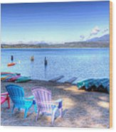 Lake Quinault Dream Wood Print