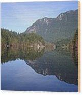 Buntzen Lake, Bc Reflections Wood Print