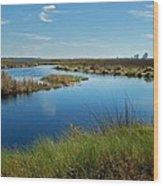 Lake Shelby Daytime  Wood Print