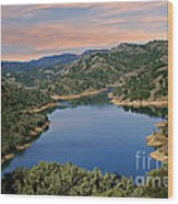 Lake Sonoma - California Wood Print