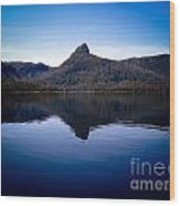 Lake St Clair Wood Print