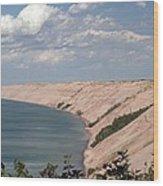 Lake Superior Dunes Wood Print