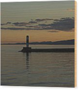 Lake Superior Grand Marais 8 Wood Print