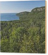 Lake Superior Grand Portage 2 Wood Print