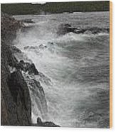 Lake Superior Pukaskwa National Park Wood Print