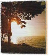 Lake Superior Sunrise Wood Print