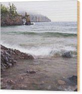 Lake Superior Tettegouche 2 Wood Print
