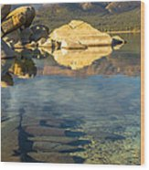 Lake Tahoe Clarity Wood Print