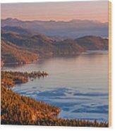 Lake Tahoe East Shore Wood Print