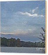 Lake Tranquility Wood Print