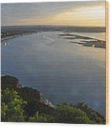 Lake Travis Sunset Wood Print