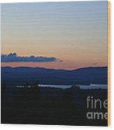 Lake Umbagog After Sunset   Wood Print