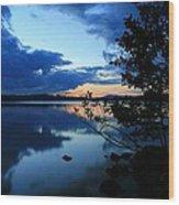 Lake Umbagog Sunset  Wood Print